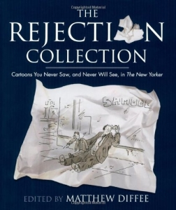 reject collection - blue cover