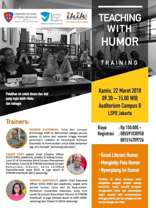 teaching with humor mart 18